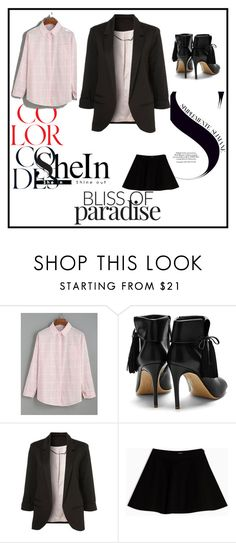 """""""Sheln Set"""" by deemonk ❤ liked on Polyvore featuring Rupert Sanderson, Max&Co. and Enyoj"""