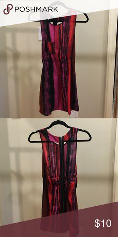 Urban Outfitters backless dress Pocket on front. Full zipper detail back. Back is mostly open. elastic waist. Urban Outfitters Dresses Mini