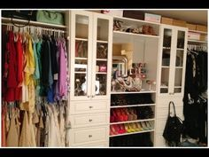 Carlibel -- want this closet... or at leasttttt the jewelry display stuff from michaels so i feel like im shopping for new stuff everyday