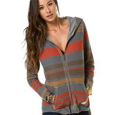 O'NEILL GIRLS O'neill autumn hoodie ($70) ❤ liked on Polyvore