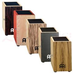 Meinl Cajons | Snare Series - The snares touch the frontplate from the inside and deliver the classical cajon sound, which is requisite in Flamenco music