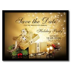 The Best Christmas And Holiday Party Save The Date Images On - Christmas save the date template