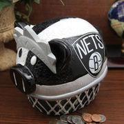 NBAStore.com - NBAStore.com Brooklyn Nets Large Resin Thematic Piggy Bank - AdoreWe.com