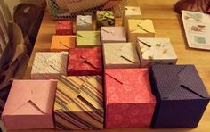 Crafts U Love: We R Memory Keeper Gift Box punch board