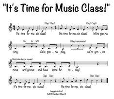 """It's Time for Music Class!"" Welcome Song by Ms Silvestri's Music Classroom Kindergarten Music, Preschool Music, Music Activities, Teaching Music, Physical Activities, Elementary Choir, Elementary Music Lessons, Learn Singing, Singing Lessons"