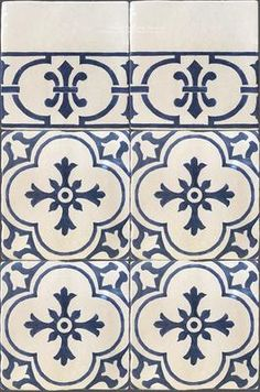 tiles Wall Monet's Blue and White Decorative Wall Tiles for Kitchens and Baths - Historic Decorative Materials, a division of Pavé Tile, Wood & Stone, Inc. Monet, White Wall Tiles, Blue Tiles, Kitchen Wall Tiles, Kitchen Decor, Kitchen Colors, Kitchen Styling, Fireplace Tile Surround, French Country Kitchens