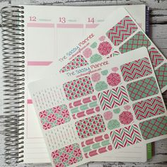 NEW! May Monthly Half Box Stickers for Erin Condren Life Planner/Plum Paper Planner - Set of 32