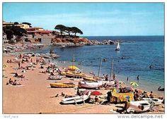 """Catalonia Costa Brava """"El Canadell"""" Beach and """"Els Tres Pins"""" - Calellla de Palafrugell."""