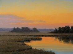 Emerging Beauty, Ronald Tinney, oil, 18x24