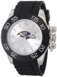 Men's Wrist Watches - Game Time Mens NFLBEABAL Beast Watch  Baltimore Ravens >>> Continue to the product at the image link.