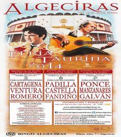 Presentados los carteles de toros de la Feria Real de Algeciras 2014