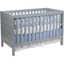 Walmart: Baby Mod - Modena 3-in-1 Fixed Side Crib, Cool Grey  New crib for Dash. Looks and quality of PB but with walmart price.