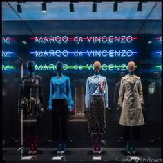 """LARUSMIANI, Via Montenapoleone, Milan, Italy, """"Listen Suzanne... Forgot to do yoga yesterday. That makes it 6 years in a row now"""", for Marco de Vincenzo, photo by I See Windows, pinned by Ton van der Veer"""