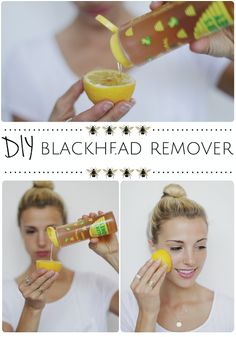 Would be fun to try this out! DIY Blackhead Removal Methods