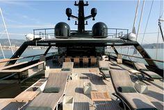 Giorgio Armani's Main yacht