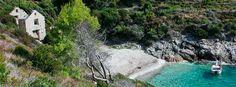 Beach Žunamice, Komiža, island Vis