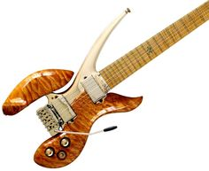 This must be a lower-calorie, less expensive guitar since so much of it is missing.