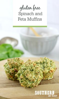 Perfect for lunchboxes and meal prep, this Gluten Free Spinach and Feta Savory Muffins Recipe is so simple and easy to make and delicious to eat. Eat them for breakfast, lunch, as a healthy snack idea or whenever you like! Lunch Box Recipes, Diet Recipes, Healthy Recipes, Lactose Free, Gluten Free, Spinach And Feta Muffins, Chopped Ham, Healthy Snacks, Healthy Eating
