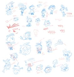 """A look into the process of developing the character for my first children's book, """"The Day I Got My Finger Stuck Up My Nose""""."""