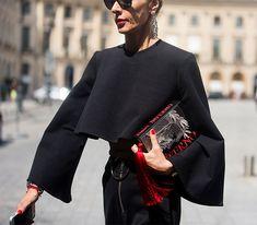 Неделя моды в Париже, весна-лето 2017: street style. Часть 2 (фото 8)
