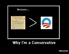 Why I'm a conservative...  #politics #tcot