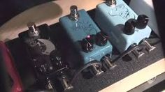 Seven Sisters. The world's first lithium ion cell pedals The world's smallest pedal board foot print Artist quality pedals at entry level prices