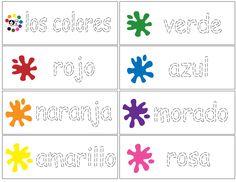 Color Trace Spanish - Spanish Printouts