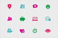 Graphics for Indiegogo rebrand - colors match their logo