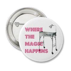 Nail Tech Manicurist Magic Button