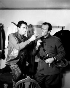 John Wayne and Gregory Peck                                                                                                                                                      More