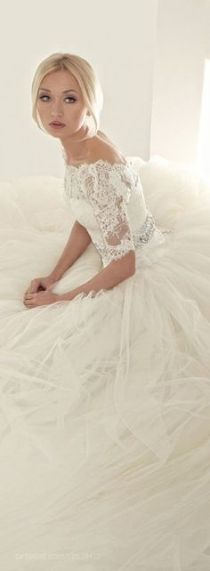 Tony Chaaya 2013. Lady Marmalaide loves this. For your perfect wedding gown