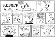 This strip was published on December Snoopy and Woodstock. Peanuts Christmas, Charlie Brown Christmas, Charlie Brown And Snoopy, Merry Christmas, Snoopy Comics, Cute Comics, Peanuts Comics, Snoopy Cartoon, Snoopy Love