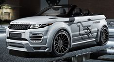 Hamann's Take On The Evoque Convertible Is Anything But Subtle