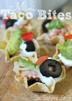 Six Sisters Mini Taco Bites