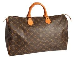 Louis Vuitton 100% Guaranteed Speedy 40 Monogram Hobo Bag $695