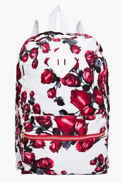 JEFFREY CAMPBELL Red Rose Backpack