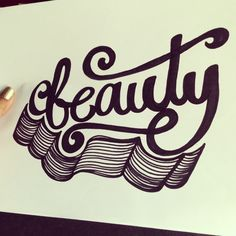 Lettering Daily - beauty