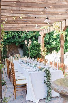 Gorgeous wedding reception idea; photo: Jeremy Chou