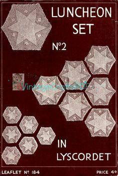 1940s Tea Cosies-Vintage Crochet Pattern-Tea by VintageCraftsPDF