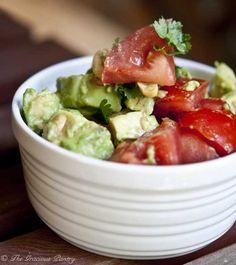 Clean Eating Avocado Cashew Salad