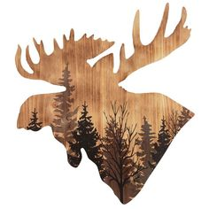 Majestic Moose Head Wood Wall Art You are in the right place about Tattoo Pattern design Here we offer you the most beautiful pictures about the Tattoo Pattern shoulder you are looking for. Wood Burning Stencils, Wood Burning Crafts, Wood Burning Patterns, Wood Burning Art, Moose Silhouette, Animal Silhouette, Alaska, Moose Decor, Bear Decor