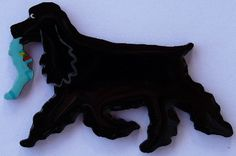 American Cocker Spaniel Pin, Magnet or Ornament -Color Choice -Free Shipping -Hand Painted -Also See English Cocker by hansford800 on Etsy https://www.etsy.com/listing/62278162/american-cocker-spaniel-pin-magnet-or