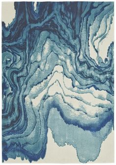Midway Blue Area Rug
