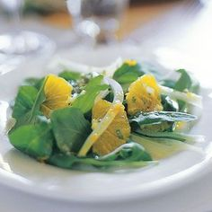 Love this arugula, fennel and orange salad.  Always a hit at dinner parties, super quick, yummy, unique ingredients, and dressing is great!