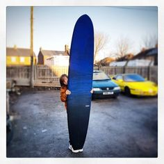 This one's getting sent off to santa now for delivery on Christmas morning! #visionary #custommade #longboard #surfboard #surfboards #reintint #resinart #shaper #shaping #knowyourshaper #madeinengland http://ift.tt/19MEsb6 http://ift.tt/1v0LElc