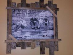 Custom pallet frame