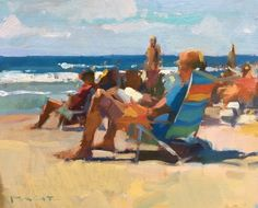 Beach Day by Colin Page