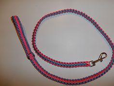 550 paracord Dog Leash Handmade Choose Colors