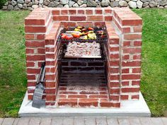 All About Built-in Barbecue Pits - Bbq Grill Grill Area, Bbq Area, Brick Grill, Stone Bbq, Barbecue Pit, Diy Grill, Built In Grill, Grill Design, Backyard