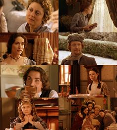 Little Women...one of my favorite movies to watch! Especially during Christmas time ;) really capture the true meaning of family and love